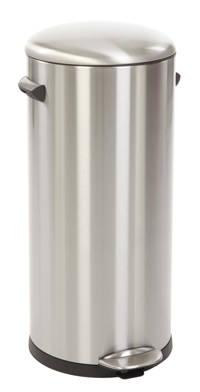 EKO Belle Deluxe 20 liter prullenbak, Mat rvs