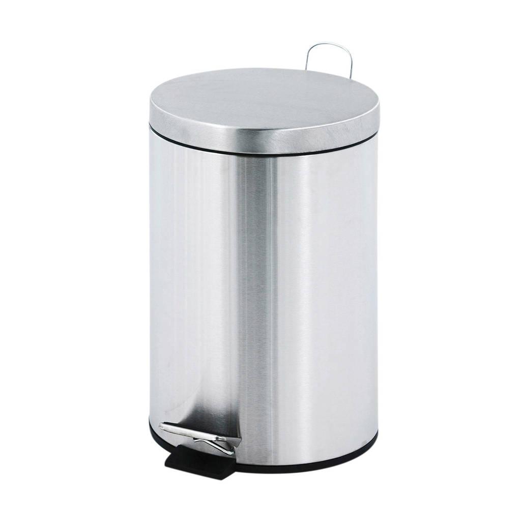V-part  12 liter prullenbak, RVS