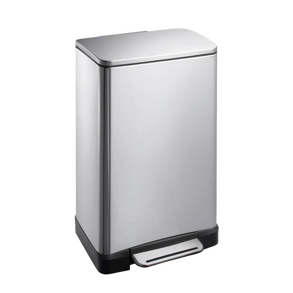 EKO E-Cube 30 liter prullenbak, Mat rvs
