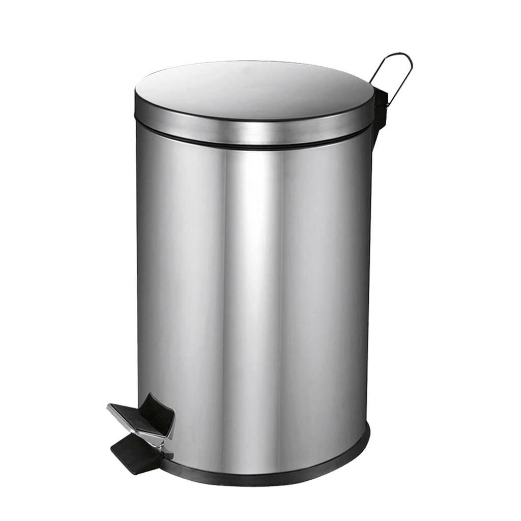 V-part  20 liter prullenbak, RVS