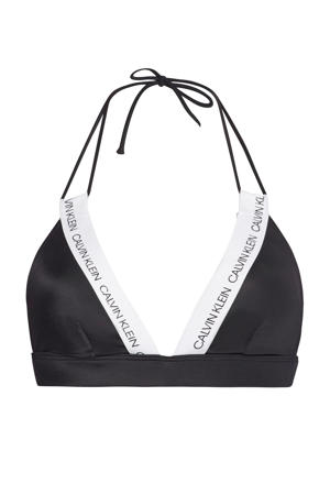 triangel bikinitop zwart