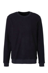 SUIT sweater donkerblauw, Donkerblauw