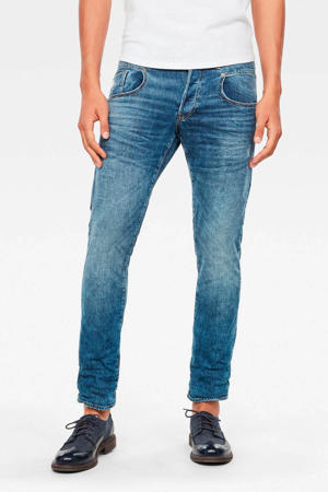 slim fit jeans a798 worn in blue faded