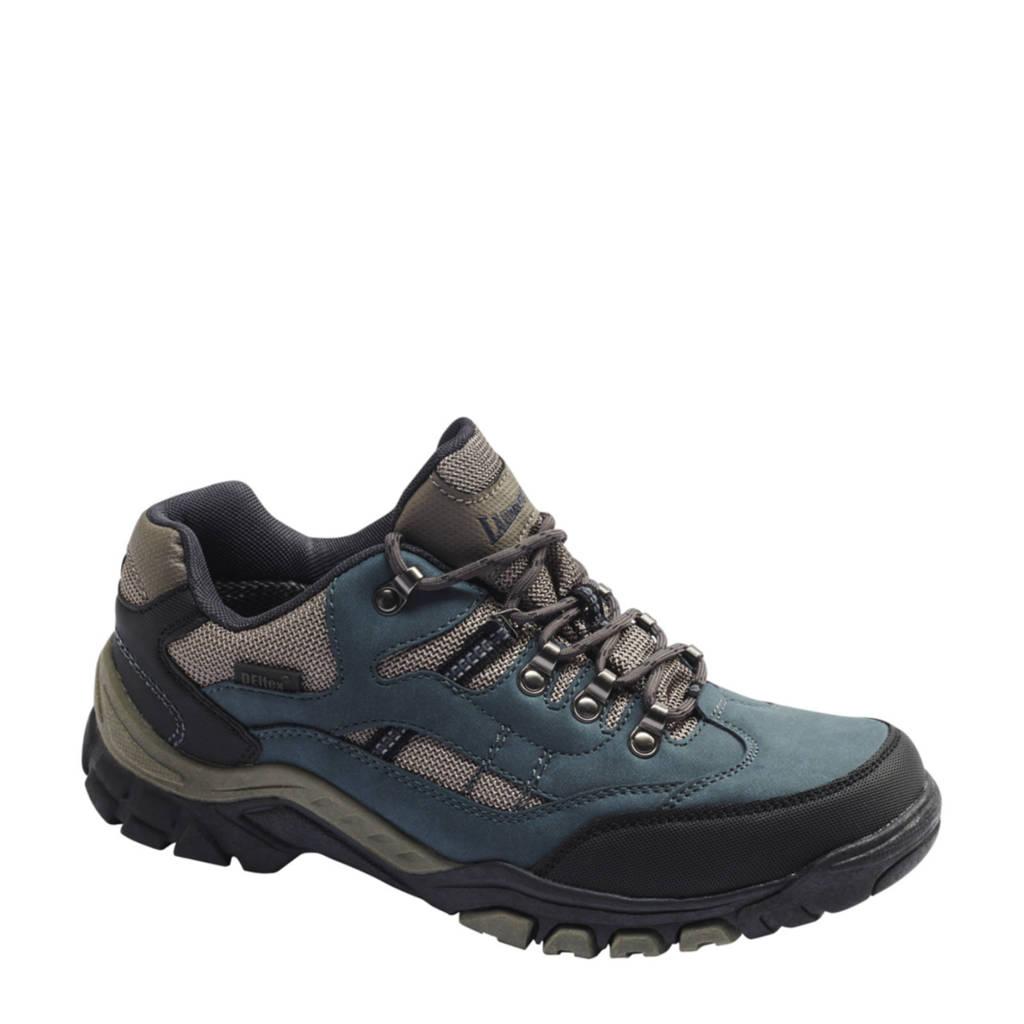 Landrover   wandelschoenen blauw/grijs, Blauw/Grijs/Zwart