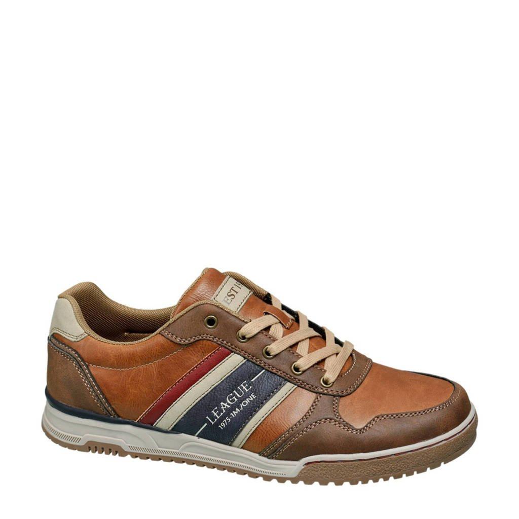 Memphis One   sneakers cognac/blauw, Blauw/bruin