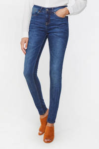 WE Fashion Blue Ridge skinny fit jeans blauw, Blauw