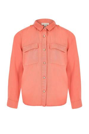 blouse zalm