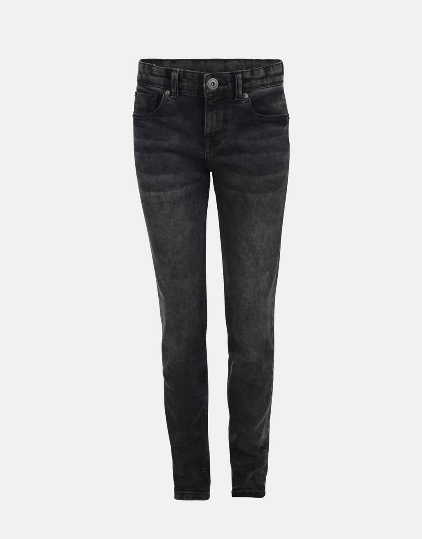 Shoeby Jill & Mitch slim fit jeans Night zwart, Zwart