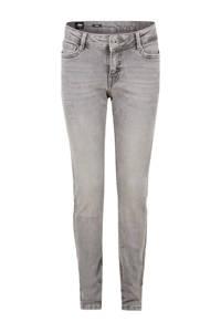 Jill & Mitch by Shoeby skinny jeans Ametist grijs, Grijs