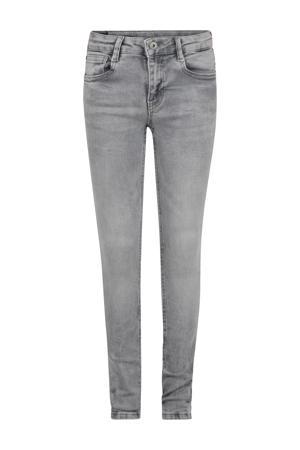 skinny jeans Ametist grijs stonewashed