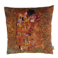 Raaf sierkussenhoes Klimt  (40x40 cm), Oranje