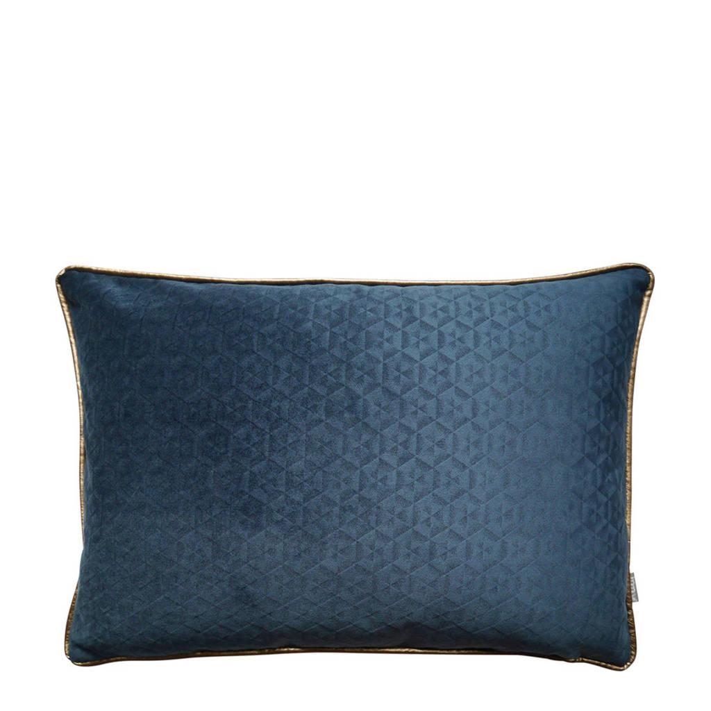Raaf sierkussenhoes Joyce  (40x60 cm), Blauw