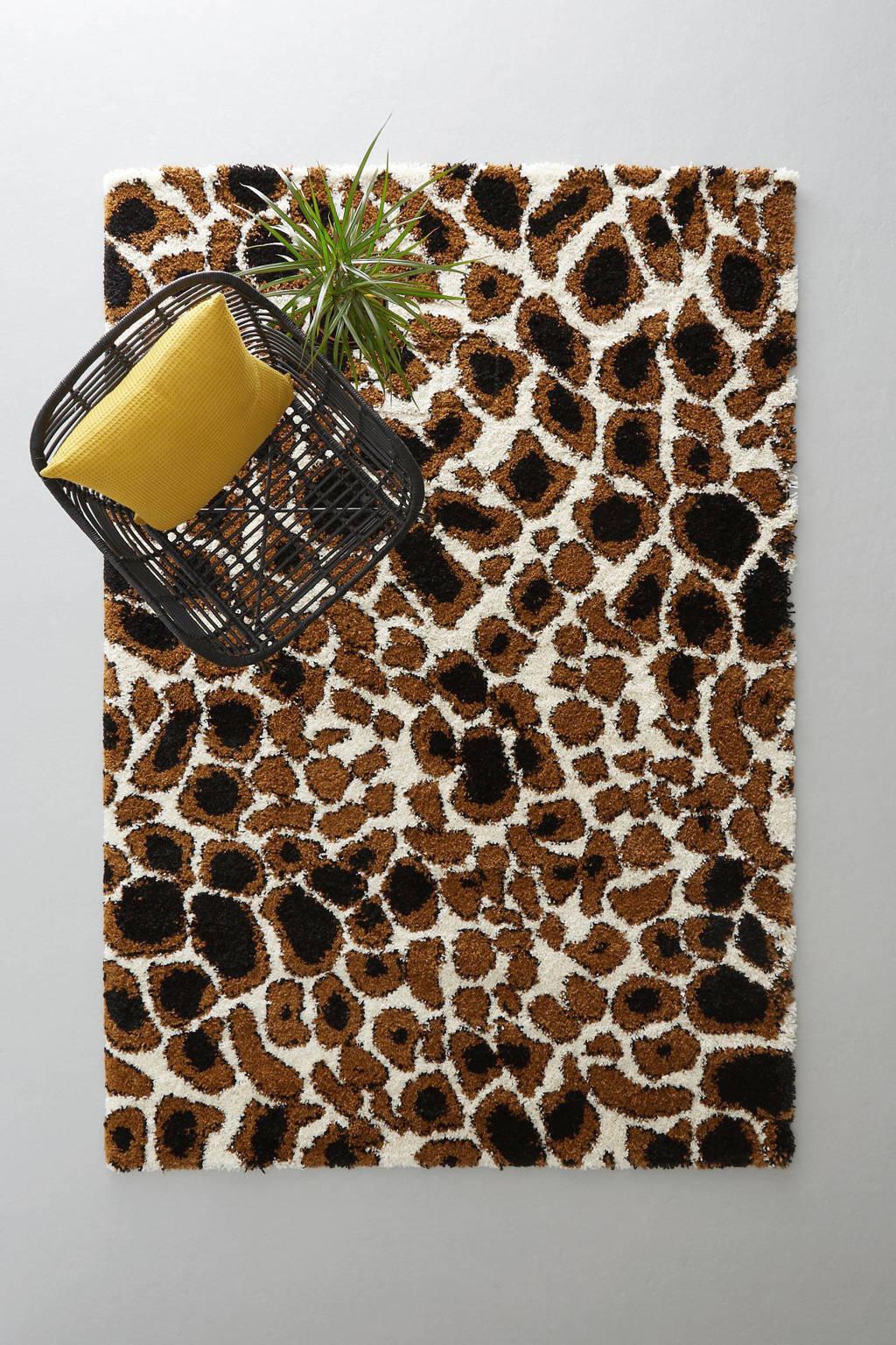 whkmp's own vloerkleed Royal Nomadic  (230x160 cm), Crème, Cognac