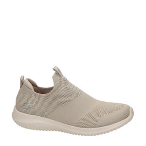 Stretch Knit  sneakers taupe