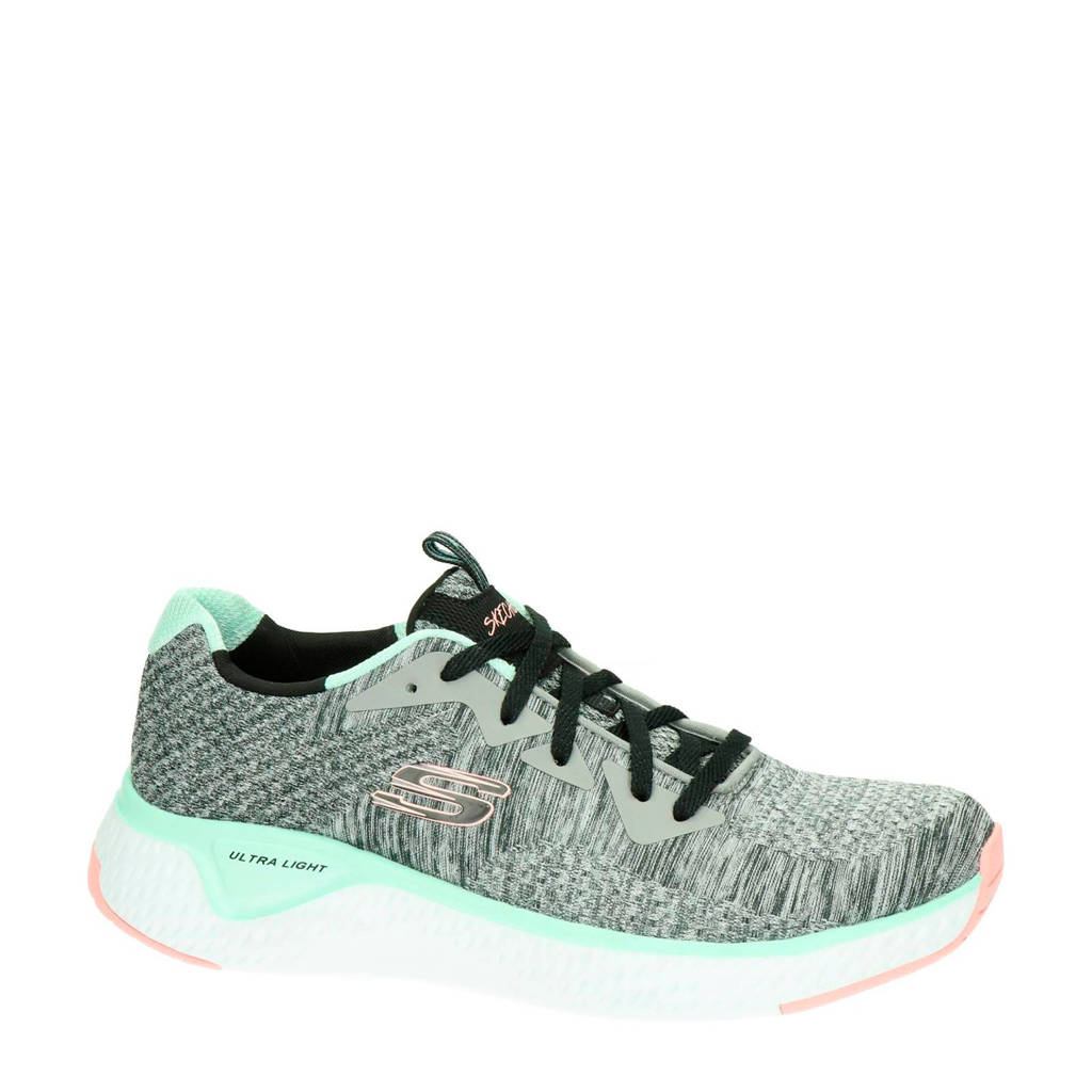 Skechers  Brisk Escape sneakers grijs/mintgroen, Grijs/mintgroen