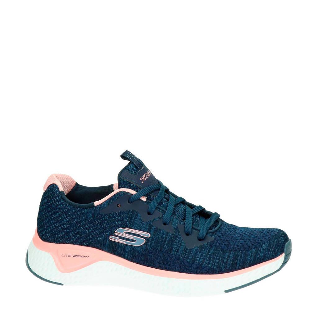 Skechers  Brisk Escape sneakers blauw/roze, Blauw/roze