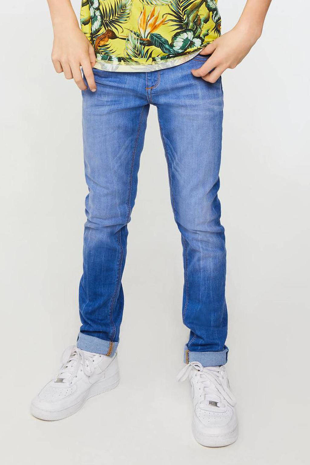 WE Fashion Blue Ridge super skinny jeans stonewashed, Stonewashed