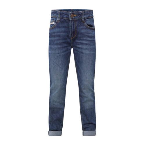 WE Fashion Blue Ridge skinny jeans donkerblauw