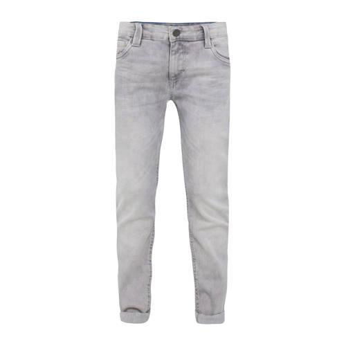 WE Fashion Blue Ridge skinny fit jeans grijs