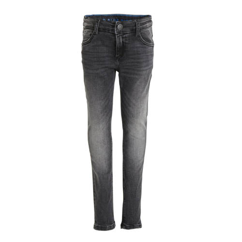 WE Fashion Blue Ridge super skinny jeans antraciet