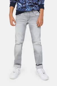 WE Fashion Blue Ridge regular fit jeans lichtgrijs, Lichtgrijs