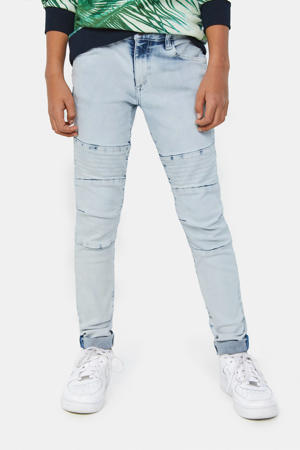skinny jeans light denim bleached