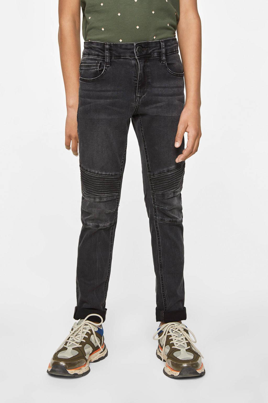 WE Fashion Blue Ridge super skinny jeans grijs, Grijs
