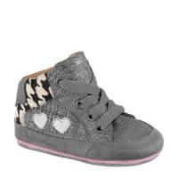 Cupcake Couture   leren babyschoenen grijs, zilver/grijs/offwhite
