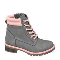 Cupcake Couture   veterboots grijs/roze, Grijs/roze