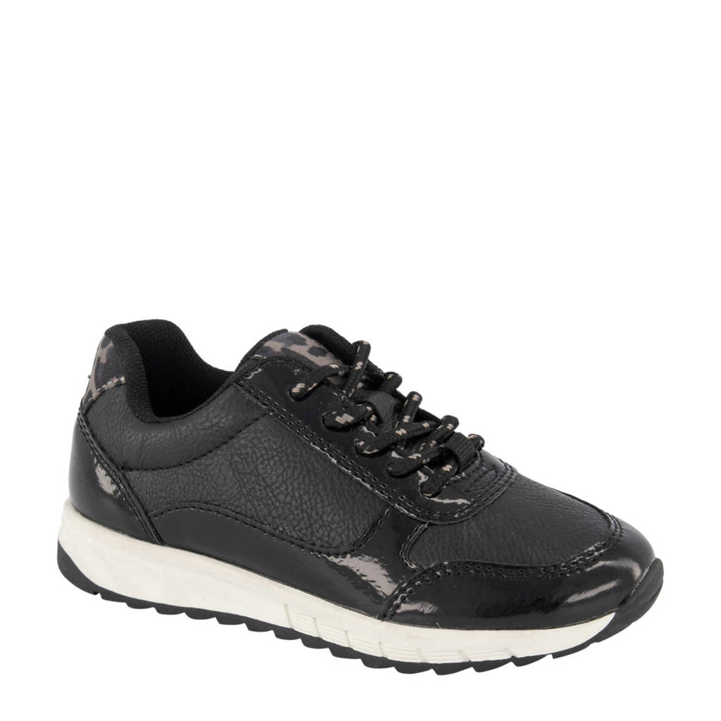 Cupcake Couture   sneakers zwart/panterprint, Zwart