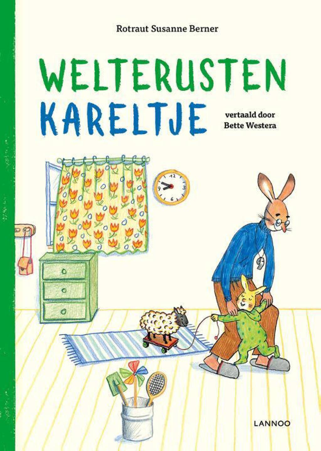 Welterusten Kareltje - Rotraut Susanne Berner