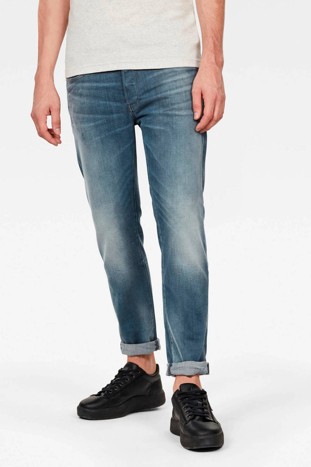 G-Star RAW slim fit jeans 3301 faded quartz, A805 faded quartz