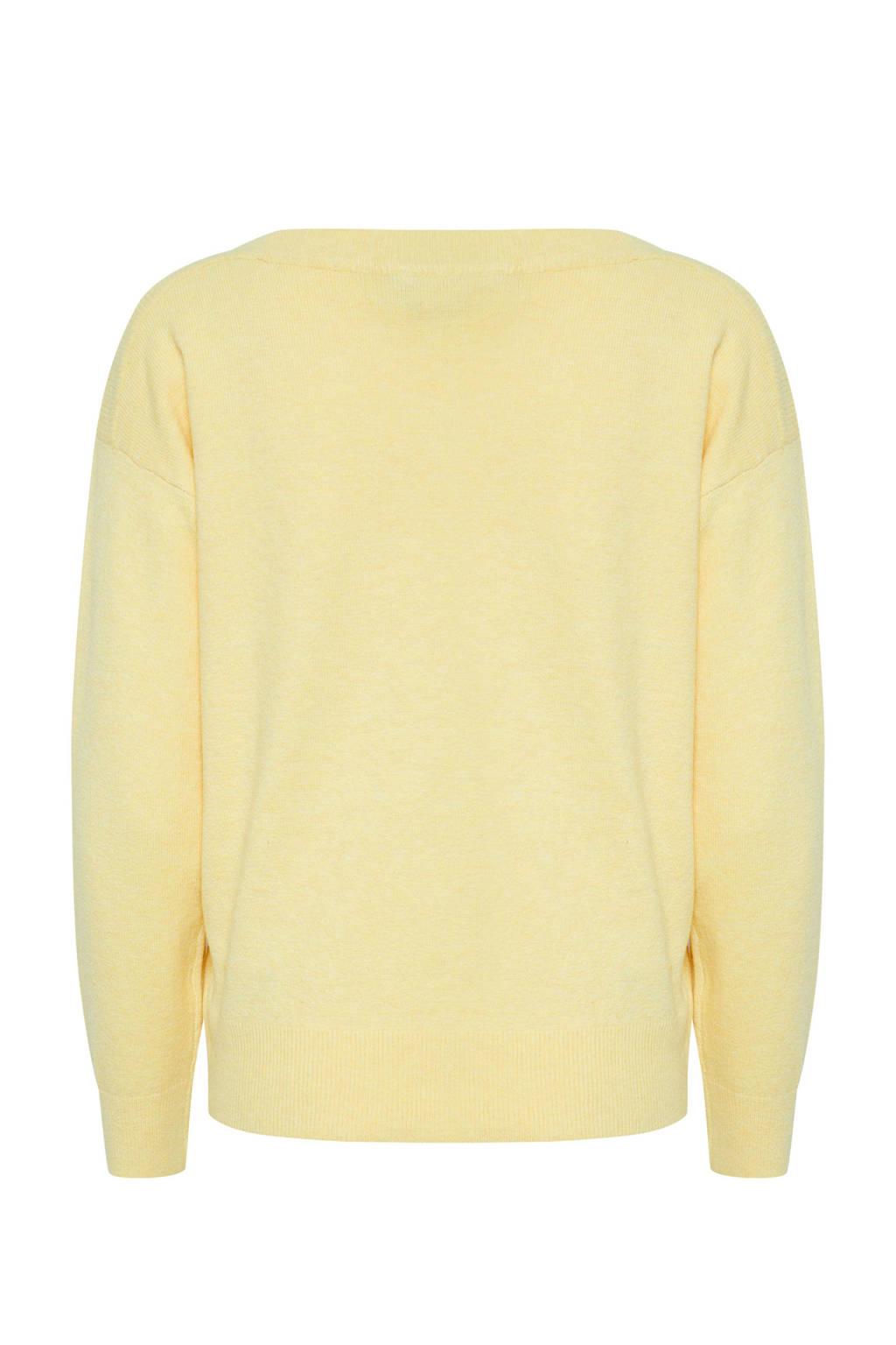 ICHI trui geel, Geel