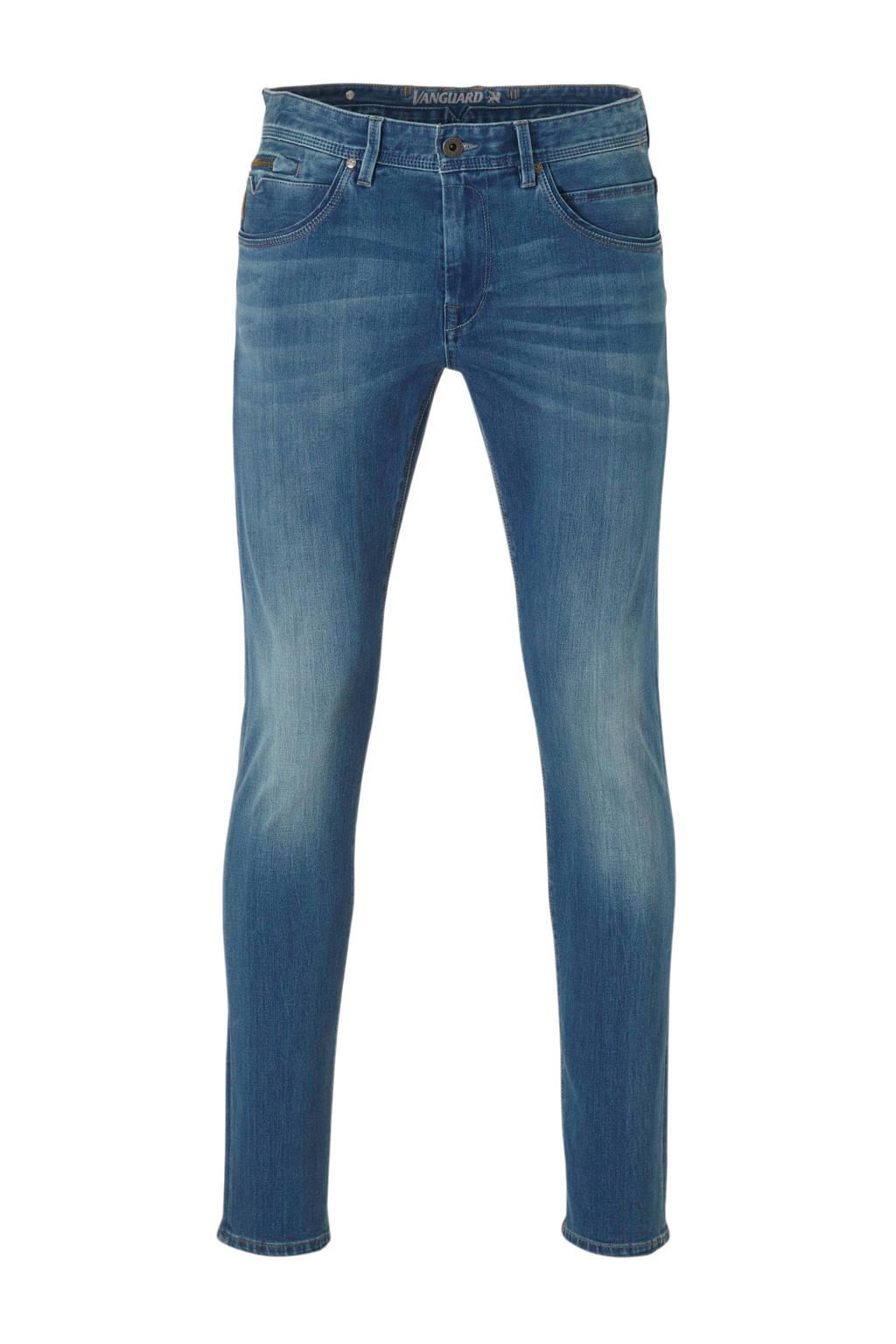 Vanguard slim fit jeans blauw, Dark Four Way