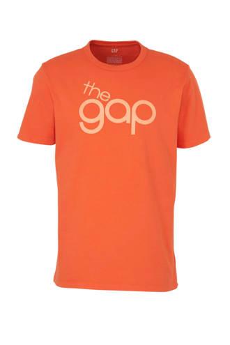 T-shirt met logo rood
