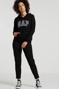 GAP hoodie met logo zwart, Zwart