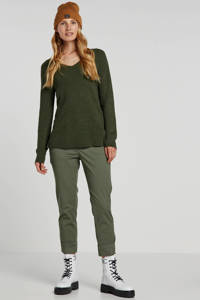 GAP tapered fit chino groen, Groen