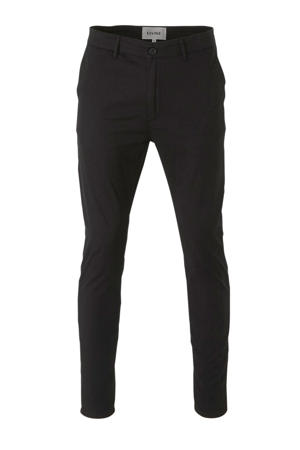 slim fit chino zwart