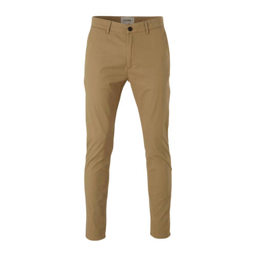 Elvine slim fit chino zand