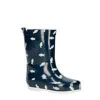 Shoesme RB20A092-A  regenlaarzen donkerblauw, Donkerblauw/wit
