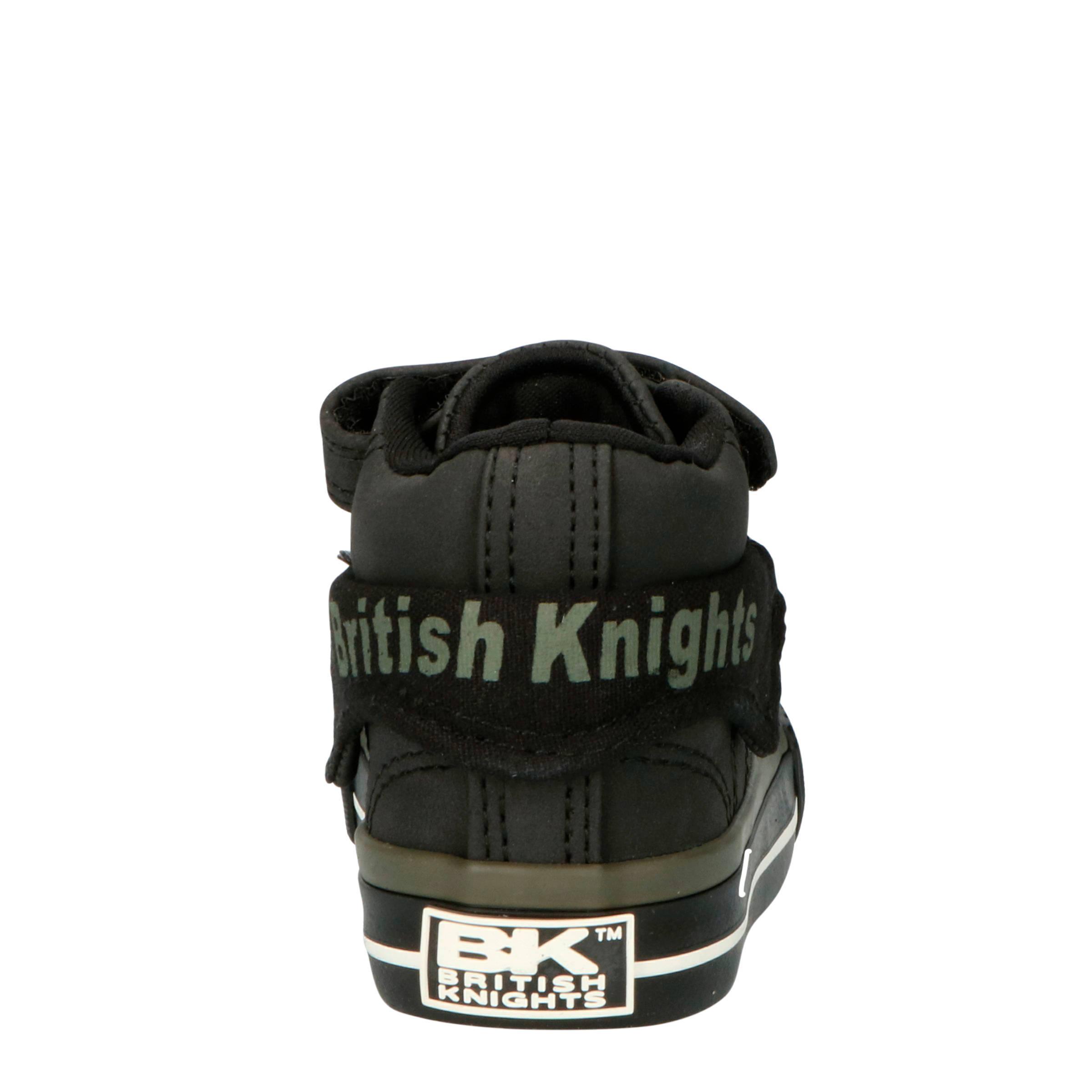 British Knights Roco halfhoge sneakers grijszwart | wehkamp