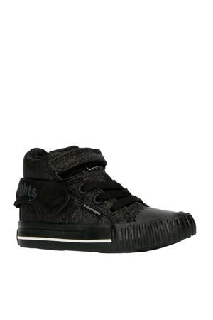 Roco  halfhoge sneakers zwart/glitters