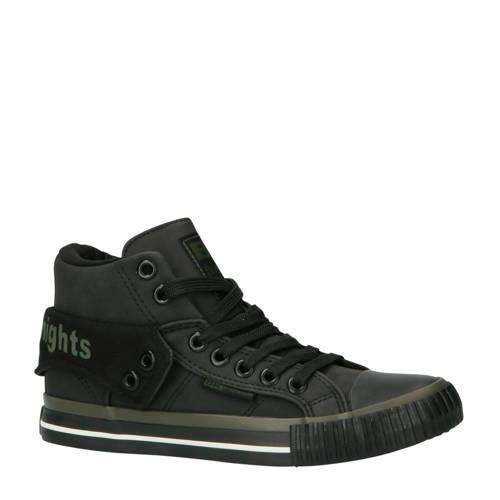 British Knights Roco halfhoge sneakers grijs-zwart