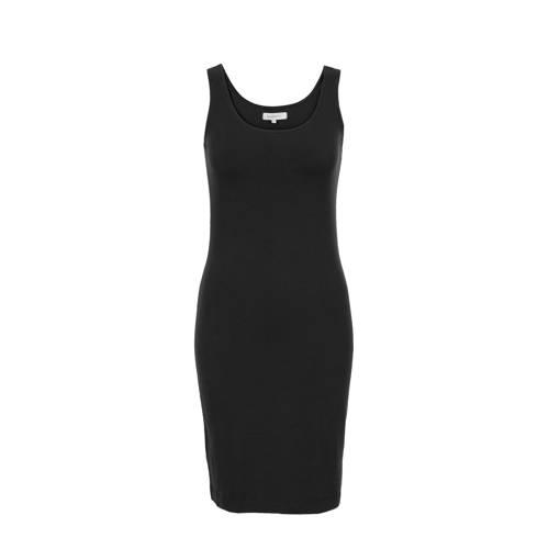 PROMISS jersey jurk zwart