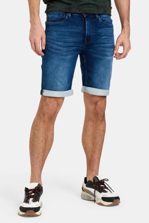 straight fit jeans short Lewis darkblue