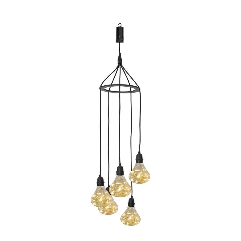 Luxform hanglamp batterij Bubbles, Transparant