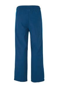 GAP straight fit broek met zijstreep blauw, Blauw