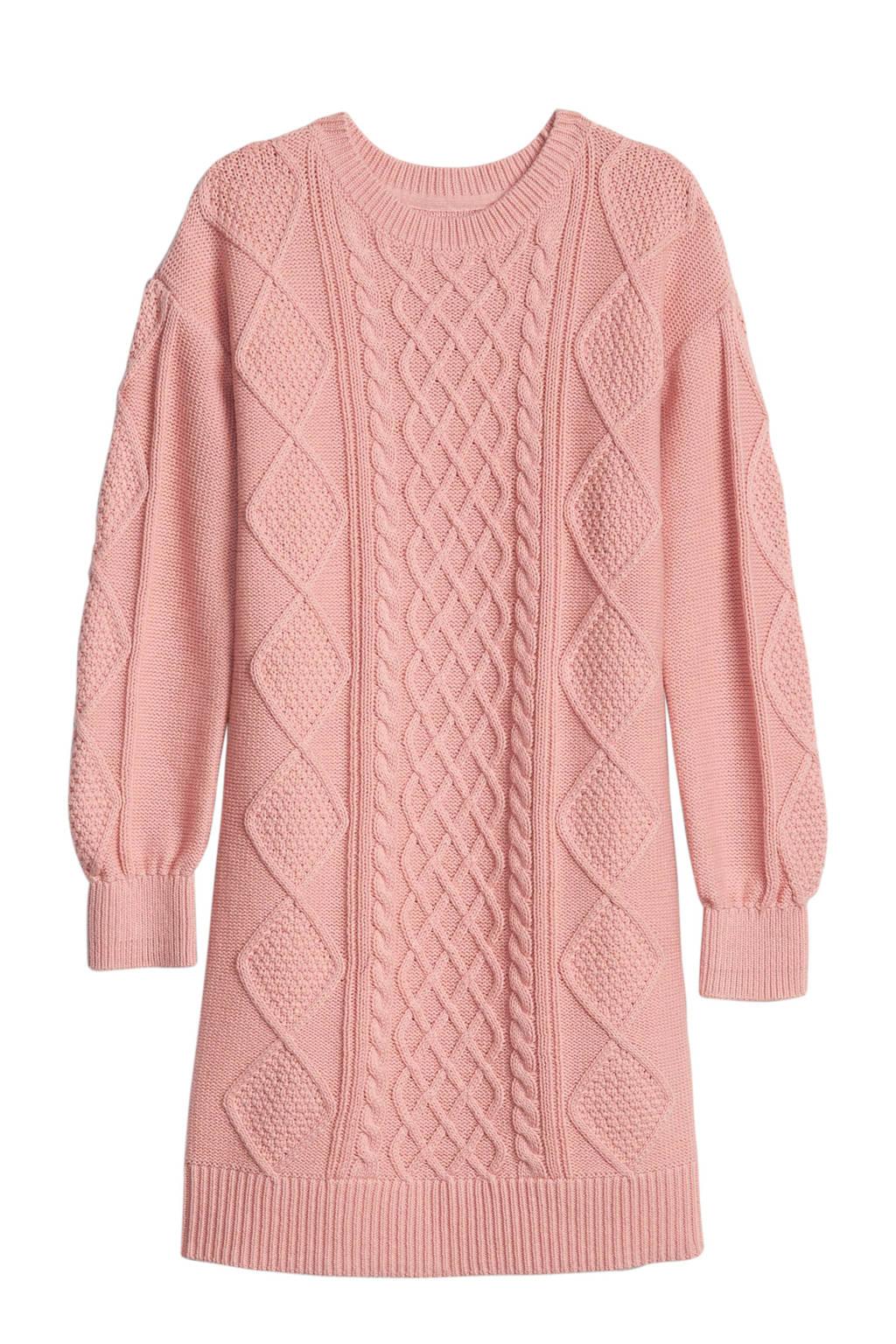 GAP gebreide jurk roze, Roze