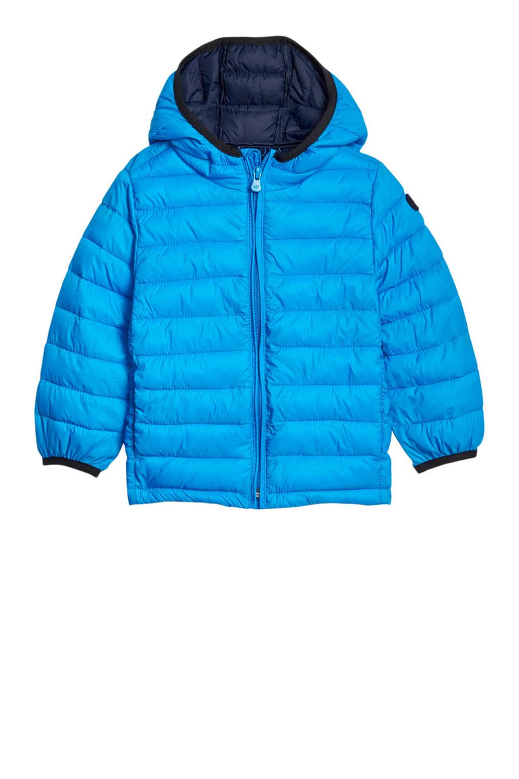 GAP winterjas blauw, Blauw