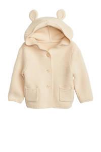 GAP baby vest met 3D applicatie ecru, Ecru